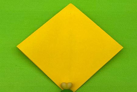 乌鸦手工折纸步骤图解 手工折纸-第4张