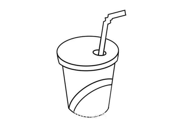 一杯可乐简笔画画法图片