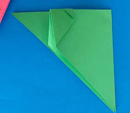 哈巴狗折纸步骤图解 手工折纸-第6张