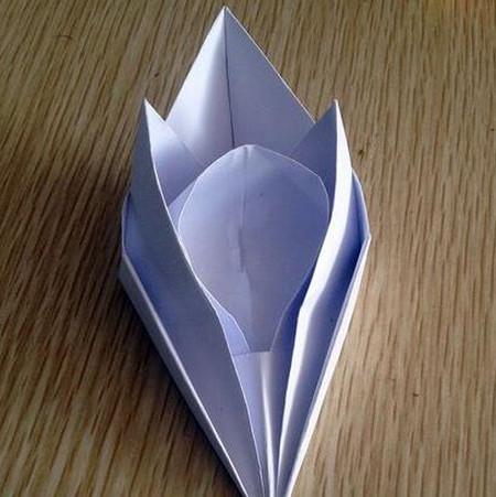 折纸宇宙飞船图解 手工折纸-第1张