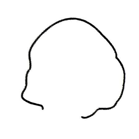 妈妈头像简笔画图片 人物-第2张