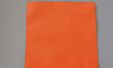 柿子折纸步骤图解 手工折纸-第2张