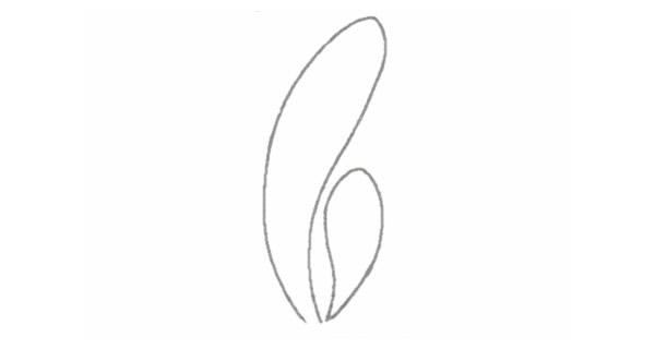 小草简笔画的画法步骤图教程 植物-第2张