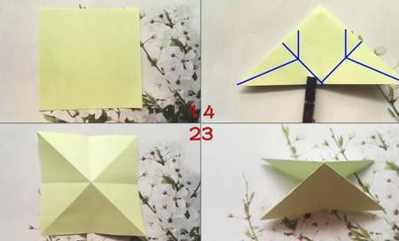 折纸乌龟的折法图解 手工折纸-第2张