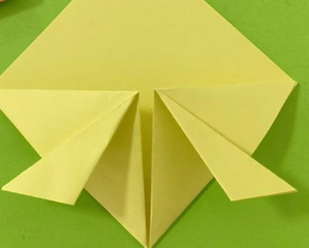 愤怒的小手工折纸步骤图 手工折纸-第7张