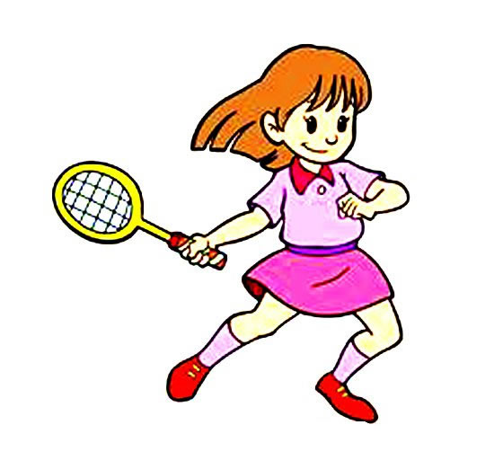 羽毛球运动员简笔画彩色 中级简笔画教程-第3张