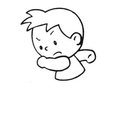 踢足球简笔画画法 中级简笔画教程-第3张