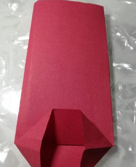 红包怎么折,折纸红包的制作方法 手工折纸-第5张