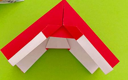 帐篷折纸方法图解 手工折纸-第14张