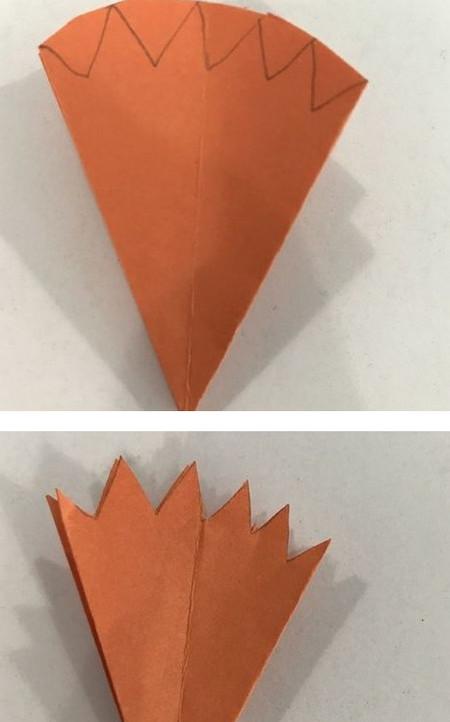 折纸康乃馨的步骤图 手工折纸-第8张