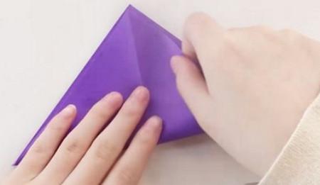 手工折纸文具盒步骤图 手工折纸-第2张