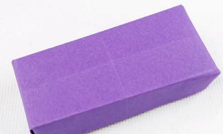 手工折纸文具盒步骤图 手工折纸-第1张
