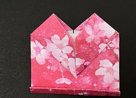 手提包折纸步骤图 手工折纸-第11张