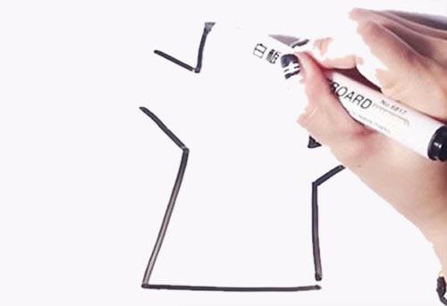 简单易学的大树儿童简笔画 中级简笔画教程-第2张