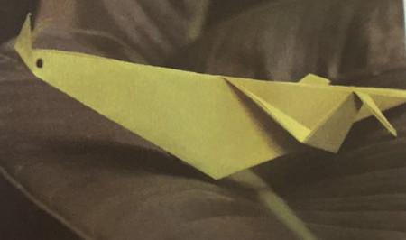 折纸蟋蟀图解 手工折纸-第1张