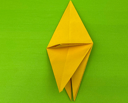 乌鸦手工折纸步骤图解 手工折纸-第8张