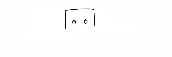 树爷爷画法步骤 卡通树爷爷简笔画彩色画法步骤图教程 植物-第3张