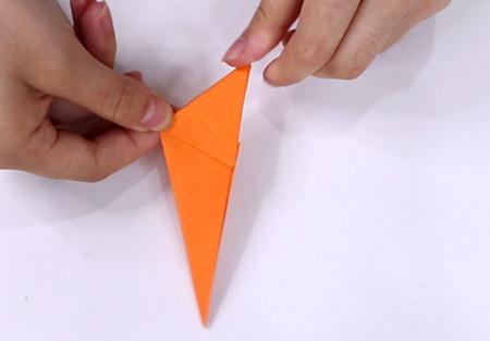 手工折纸飞机的步骤图解 手工折纸-第8张
