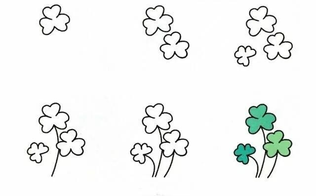 9种植物简笔画超详细教程 初级简笔画教程-第9张