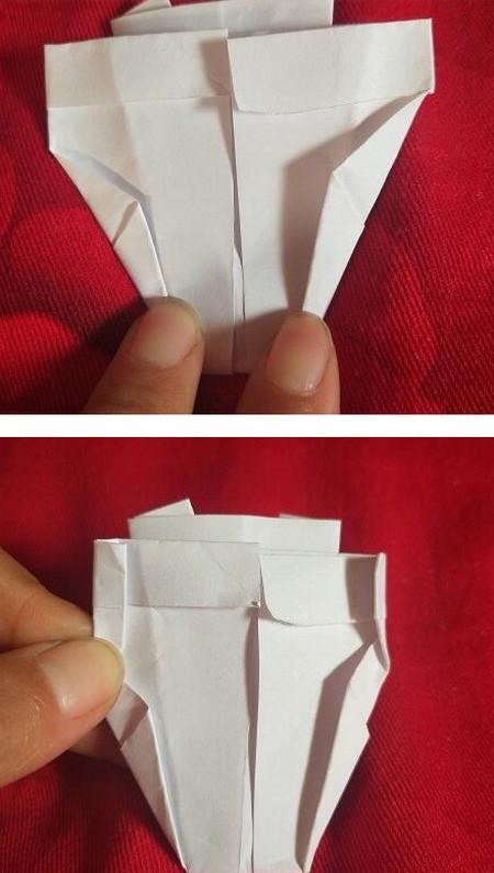 手工折纸西装步骤图解法 手工折纸-第7张