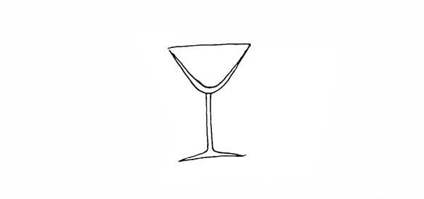 饮料果汁简笔画彩色画法