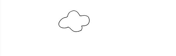 牵牛花画法步骤,牵牛花教程 初级简笔画教程-第2张