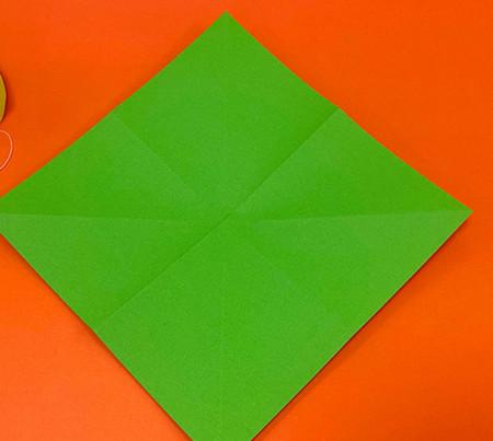 降落伞折纸方法图片大全 手工折纸-第2张