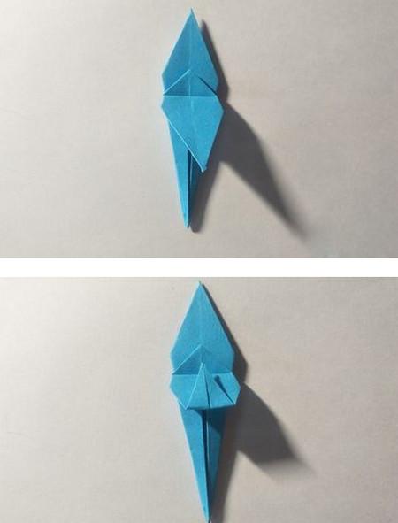 儿童手工锦鲤折纸图解 手工折纸-第7张