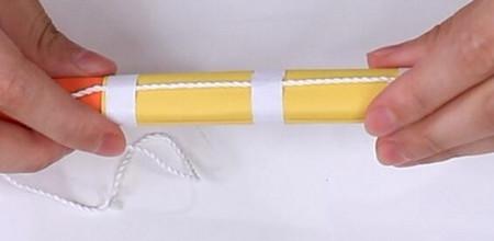 伸缩扇子的折法图解 手工折纸-第20张