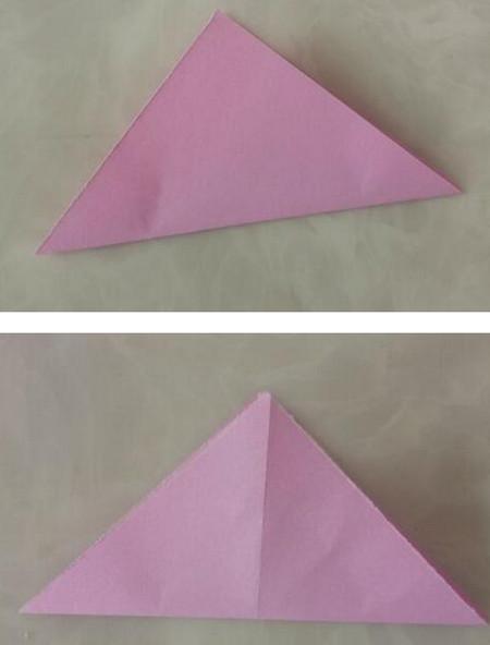 折纸陀螺步骤图 手工折纸-第2张