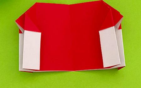 帐篷折纸方法图解 手工折纸-第10张