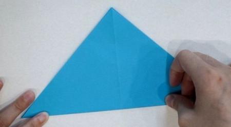 儿童手工折纸蝴蝶的步骤和图解 手工折纸-第3张