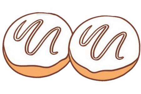 面包简笔画图片