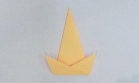帽子手工折纸步骤图解 手工折纸-第1张