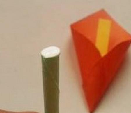 马蹄莲花折纸步骤 手工折纸-第12张