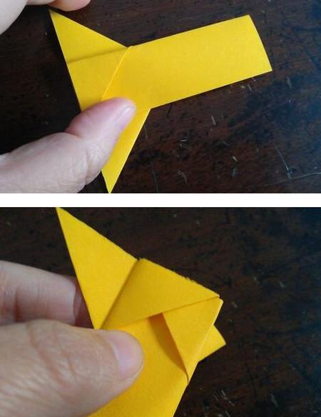 小狗指套怎么折 手工折纸-第6张