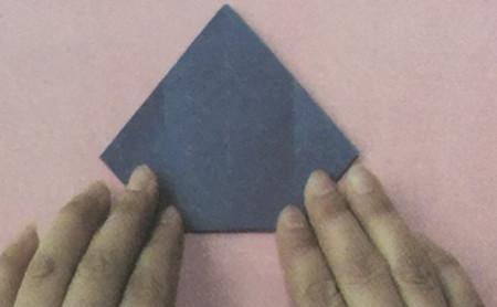 火箭折纸步骤图解 手工折纸-第3张