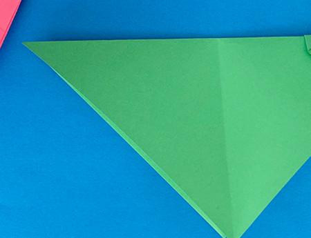 哈巴狗折纸步骤图解 手工折纸-第5张