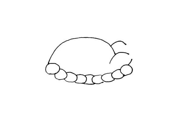 美味的火鸡简笔画