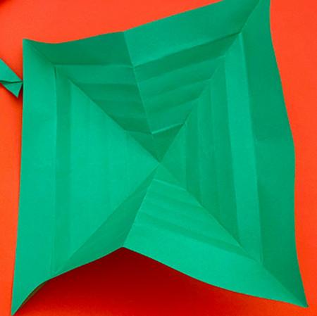 回力标折纸教程图解 手工折纸-第10张
