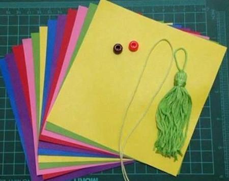 折纸灯笼立体简单做法 手工折纸-第1张