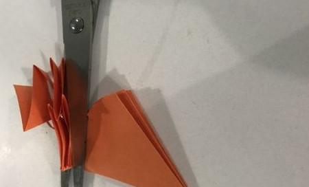 折纸康乃馨的步骤图 手工折纸-第7张