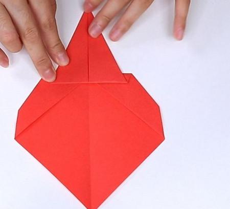 用纸折扇子的方法步骤图片 手工折纸-第7张