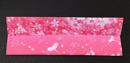 手提包折纸步骤图 手工折纸-第5张
