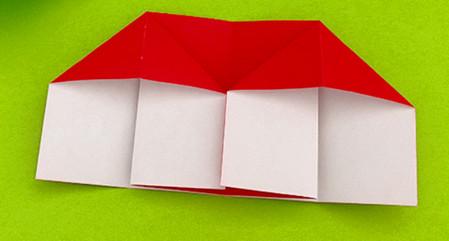 帐篷折纸方法图解 手工折纸-第5张