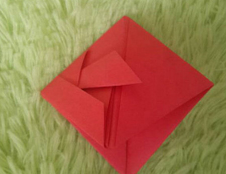 立体小金鱼的简单折法 手工折纸-第10张