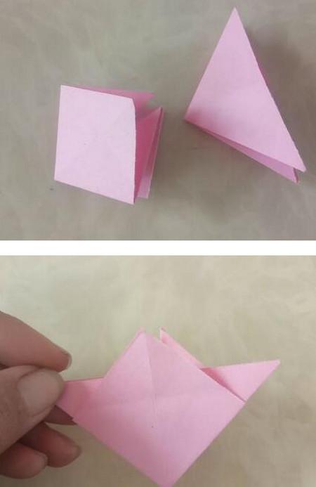 折纸陀螺步骤图 手工折纸-第6张