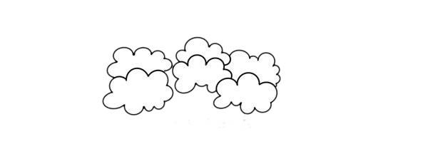大树简笔画,桉树简笔画画法步骤教程 中级简笔画教程-第3张