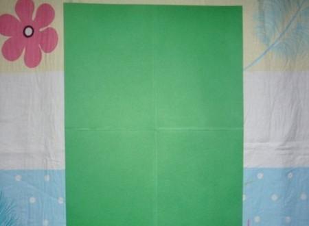 滑滑梯折纸步骤图 手工折纸-第3张