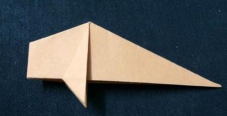 手工折纸鲤鱼步骤图解 手工折纸-第7张